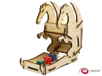 e-Raptor Dice Tower - Dragon Wooden Small