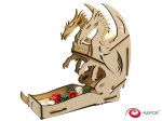 e-Raptor Dice Tower - Dragon Wooden