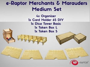 e-Raptor Merchants & Marauders Medium Set