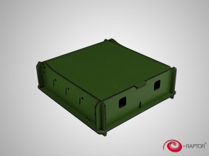 e-Raptor Universal Box Small Green