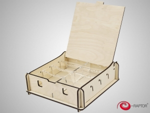 e-Raptor Universal Box Small Wooden