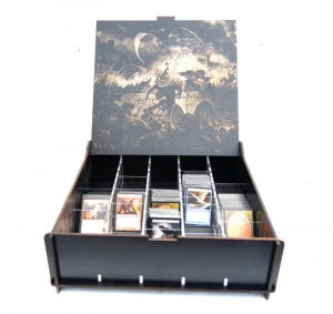 e-Raptor Trading Card Storage Big Box - Castle