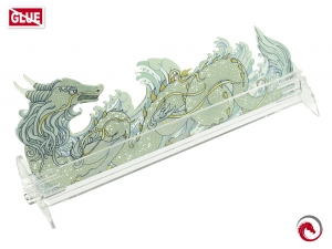 e-Raptor Card Holder S Dragon Transparent