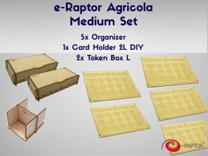e-Raptor Agricola Medium set