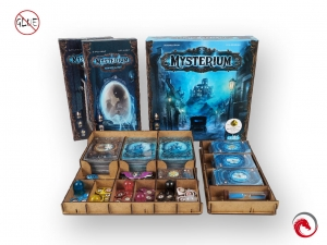 Mysterium + 2 expansions (Hidden Signs / Secret Lies ) + Insert