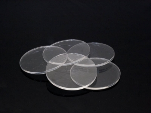 e-Raptor Clear Miniature Bases, Circular 50mm