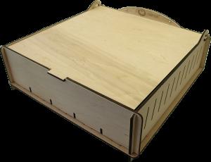 32872bc21b0 e-Raptor Trading Card Storage Big Box - Wooden