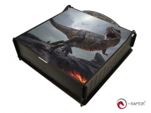 e-Raptor Trading Card Storage Ultimate Box - Tyrannosaurus Rex