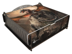 e-Raptor Trading Card Storage Deluxe Box - Dragon Guardian