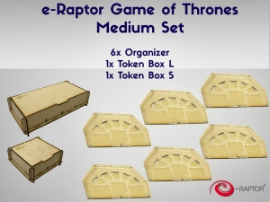 e-Raptor A Game of Thrones Medium Set