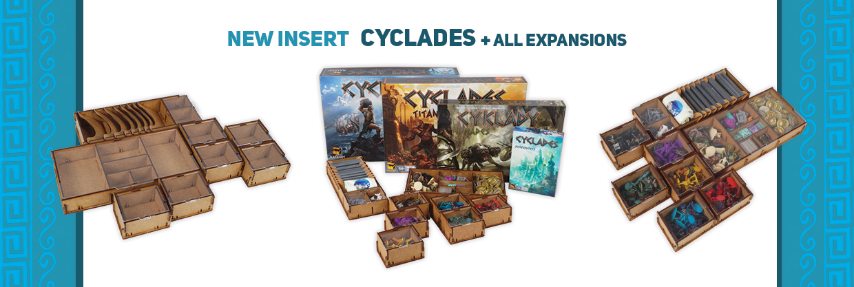 e-Raptor Insert cylades + all expansion